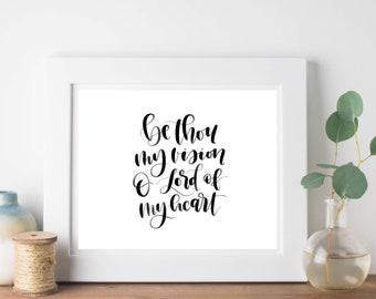 Be Thou My Vision Digital Print