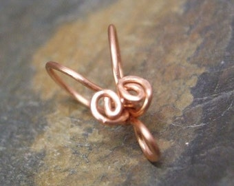 Handmade Copper Bails VII, PurpleLily Designs, SRA