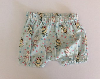 Baby bloomers girl bloomers  size 00,  harem bloomers shorts pants
