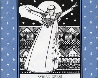 Syrian Dress, Folkwear Pattern 105
