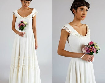 Wedding Dress with Cotton