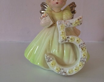 Josef original birthday angel figurine age 5