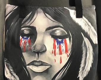 Puerto Rican Canvas Tote Bag