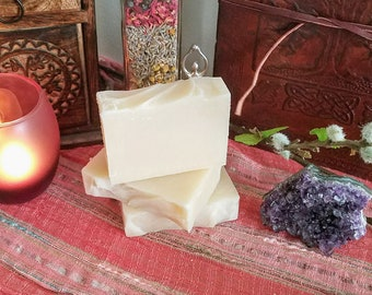 Apple & Sage Healing and Protection Soap Cold Process soap, Handmade Soap, Cold Process Soap, Apple, Sage, Witchcraft, Wicca, Pagan, Soap