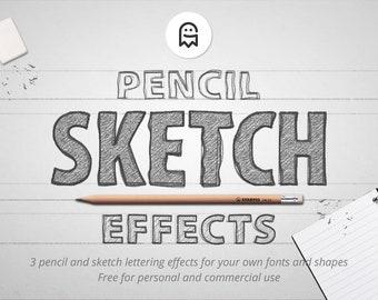 Bleistift-Skizze-Effekte für Photoshop