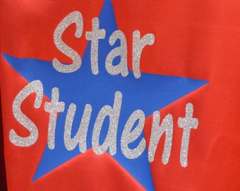 STAR STUDENT Cape Great for Teachers, teacher gifts, classroom use, or reward!