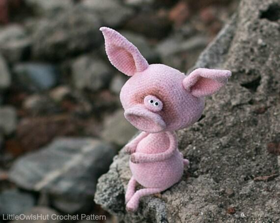 193 Crochet Pattern Fima The Pig Amigurumi Toy Pdf File By