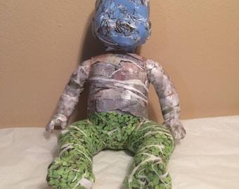 OOAK Doll Upcycle Repurpose Creepy