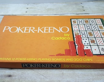 Poker Keeno by Cadeco, 1977, vintage board game