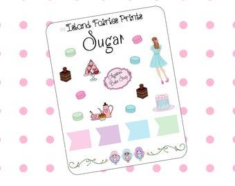 Original Sugar Deco Sheet D2