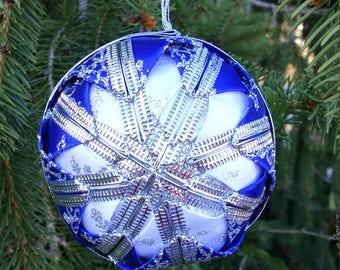 Three Inch Ribbon Ornaments