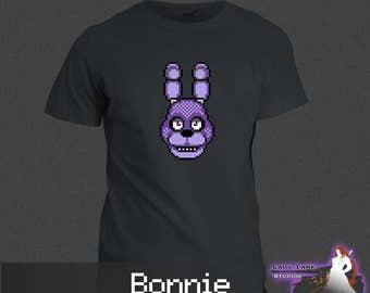 Five Nights at Freddy's - Bonnie (Unisex/Ringspun/Ladies) Tshirt FNAF