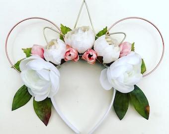 Queen of all Flower Gardens / Minnie Wire Ears / Mickey Wire Ears / Wire Ears / Mickey Ears / Minnie Ears