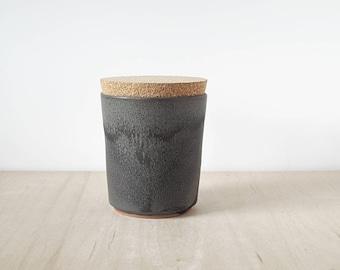large cork jar : SALE