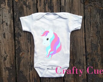 Unicorn Onepiece, Unicorn Bodysuit, Unicorn One Piece, Unicorn Baby Shower Gift, Cute Baby Shower Gift, Unicorn Baby Shirt, Unicorn