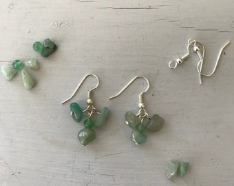 Seafoam - Sea Glass Earrings