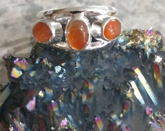 Carnelian Ring Size 10