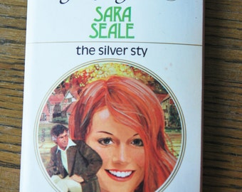 1970s Harlequin Romance the silver Sty by Sara Seal retro