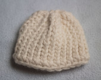 Adorable Knit Preemie Baby Hat