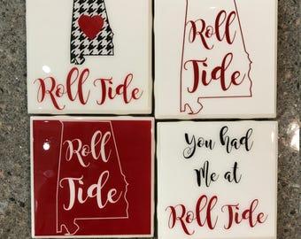 Alabama Roll Tide Coasters