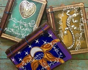Inspiring Journal (Eco Recycled Notebook Prayer Journal Sketchbook Travel Journal Stationary Blank Vegan Travelers Diary Shabby Rustic Gift)