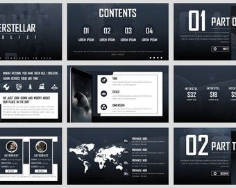 Simple Magazine Style of Technology PowerPoint Template 03