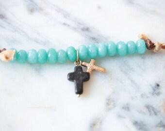 Cross Choker Necklace-SALE!