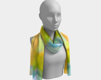 Your Own Kind of Beautiful Scarf by Deloresart