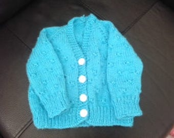 Baby boy V neck cardigan