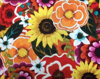 P&B Fabrics FLORIANNA 100% Cotton Premium Fabric for Quilting - sold by 1/2 yard