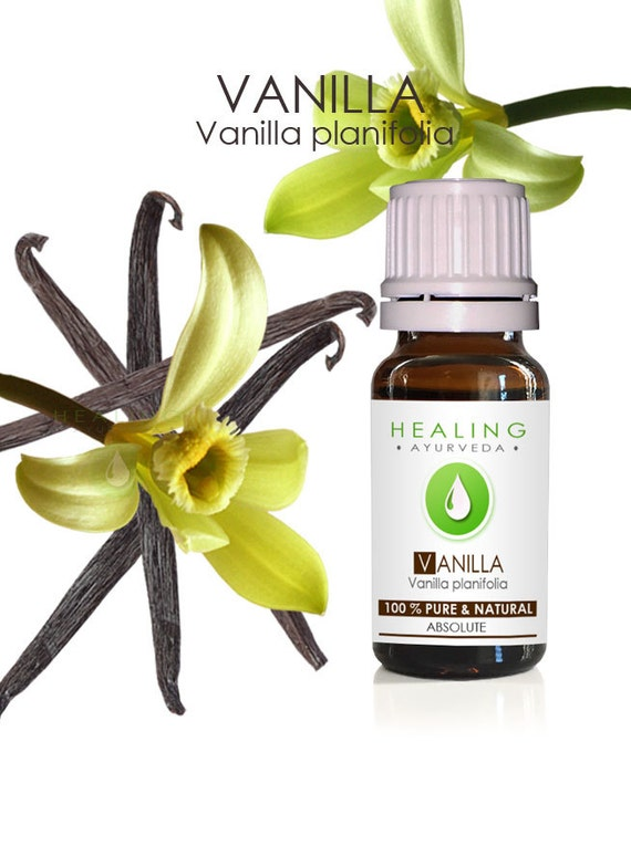 Vanilla-  True Vanilla absolute oil-Pure Vanilla oil- Vanilla planifolia- Sensual- Aromatherapy oil- Natural perfumery- absolute- Undiluted
