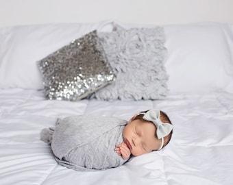 Baby Hair Bows, Classic Bow, Newborn Baby Bows, Nylon Headband, Felt Bow Headband, Baby Girl Headbands, Newborn Headband, Baby Headband, Bow