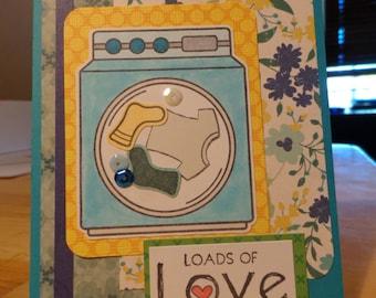 Loads of love card