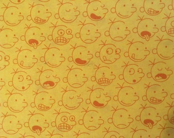 Diary of a Wimpy Kid fabric