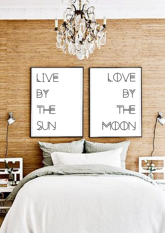 wall posters for bedroom. Like this item  Set Of Two ART PRINTS Poster pair Boho poster Typography