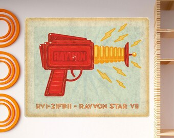Rayvon Star VII Toy Gun Lunastrella Wall Decal - #64323