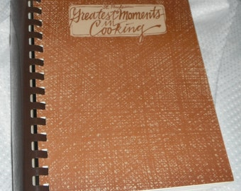St Pauls Greatest Moments in Cooking Worthington Iowa Vintage CookBook