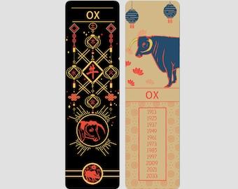 Ox Chinese Zodiac Sign (Sheng Xiao)   Bookmark