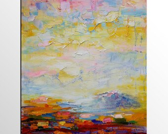 Landscape Painting, Canvas Art Painting, Large Art, Original Art, Abstract Art, Canvas Painting, Wall Art, Large Art, Abstract Painting