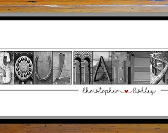 """Soulmate Gift For Her, Soulmate Gifts For Him, Soulmates Sign, Soul Mates Sign, Love Home Decor, Rustic Wedding, Rustic Home Decor, 12X24"""""""
