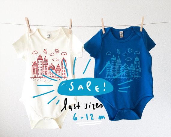 Quiet City // Organic Baby Bodysuit