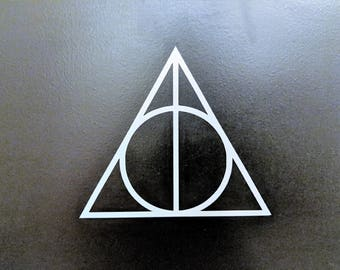 Harry Potter Deathly Hallows Symbol Decal