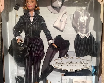 1997 Barbie Millicent Roberts Pinstripe Power Doll