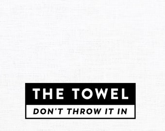 the towel linen tea towel
