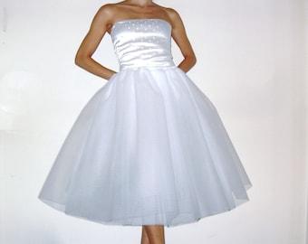 Tulle Petticoat White 70 cm
