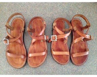 Handmade Adjustable Leather Sandals