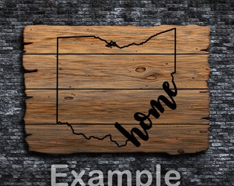 Ohio Home ai  eps  jpg  png  and svg Clipart, Vinyl, Stencil - Cricut - Silhouette Cameo