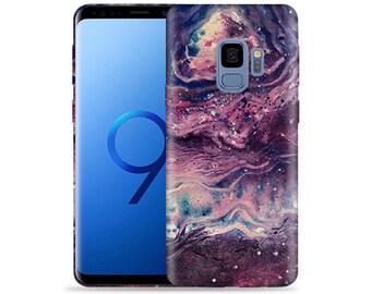 For Samsung Galaxy S9 Case / Galaxy SM-G960 Case #Space Design Hard Phone Case