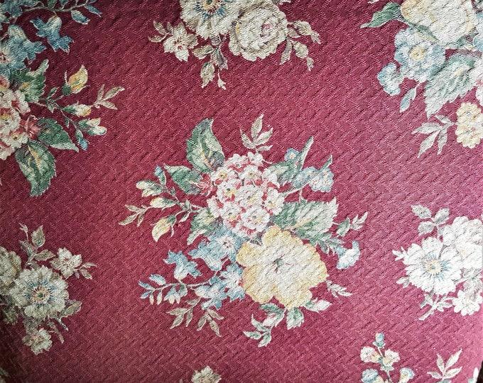 Featured listing image: Vintage Bark Cloth Drapery Panels