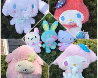 Bundle of 7 SANRIO plush toys - Japan Official collectible